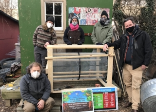 DIY Compost Screeners — Baltimore Community Compost Sites Build Their Own