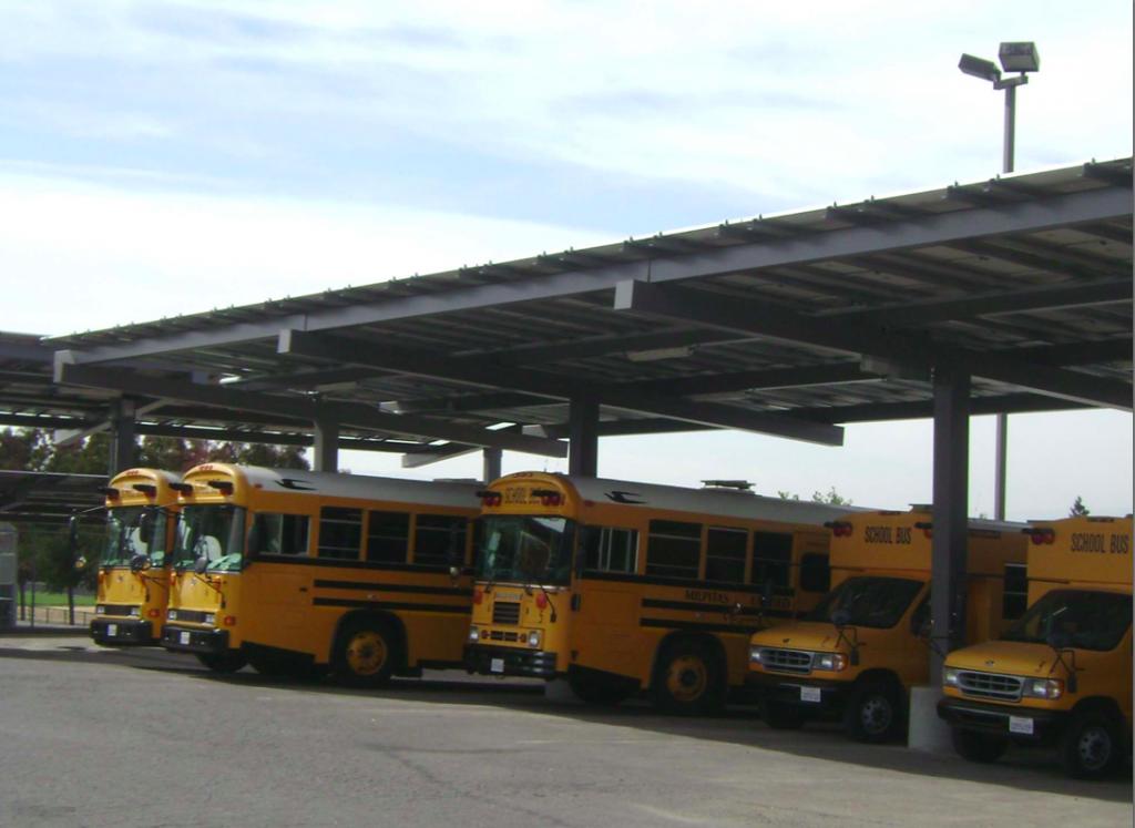 Milpitas School District Solar Carports 2