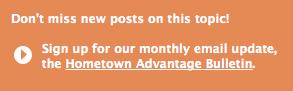 Hometown Advantage Bulleting Sign-Up
