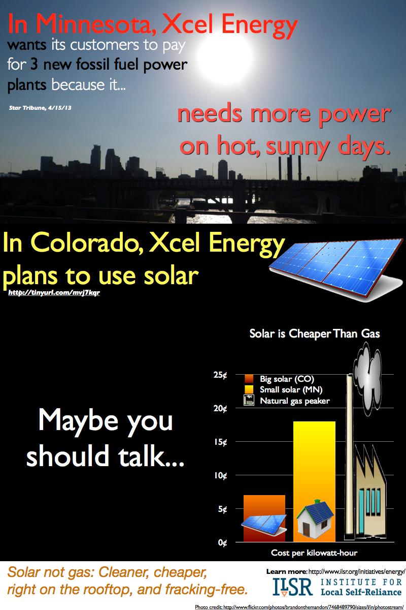 solar gas infographic xcel