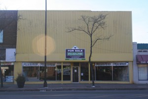 Photo: NEIC storefront before.
