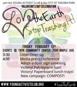 YAC Feb 13 Valentine Celebration flyer