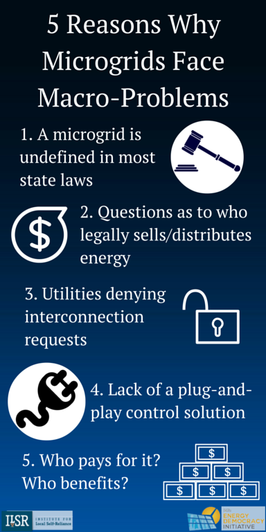 Why Microgrids