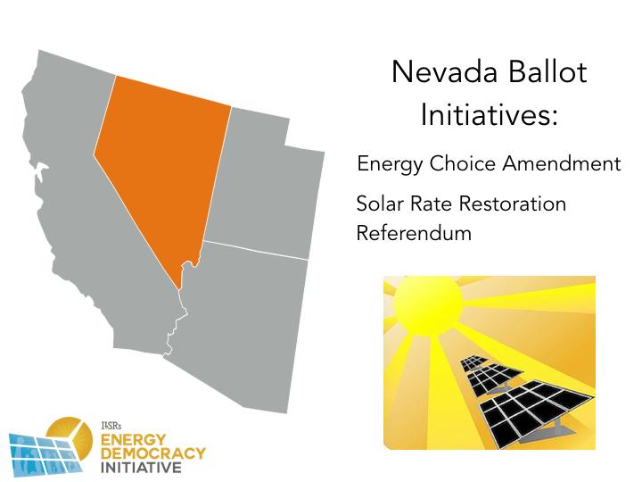 Nevada 2016 Energy Ballot Initiatives