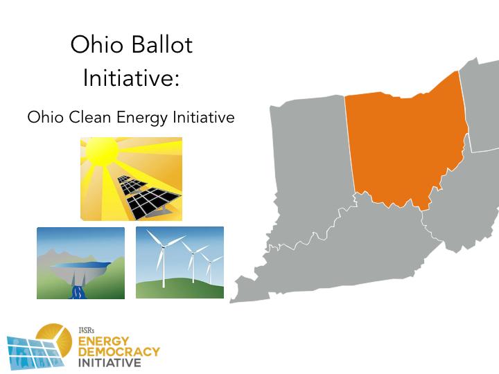 Ohio 2016 Energy Ballot Initiatives