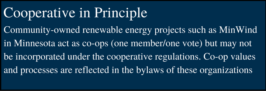 Cooperative In Principles