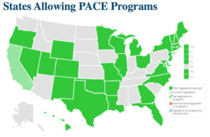 States Allowing PACE Programs