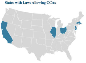States with Laws Allowing CCAs