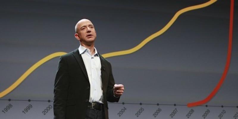 Photo: Jeff Bezos of Amazon