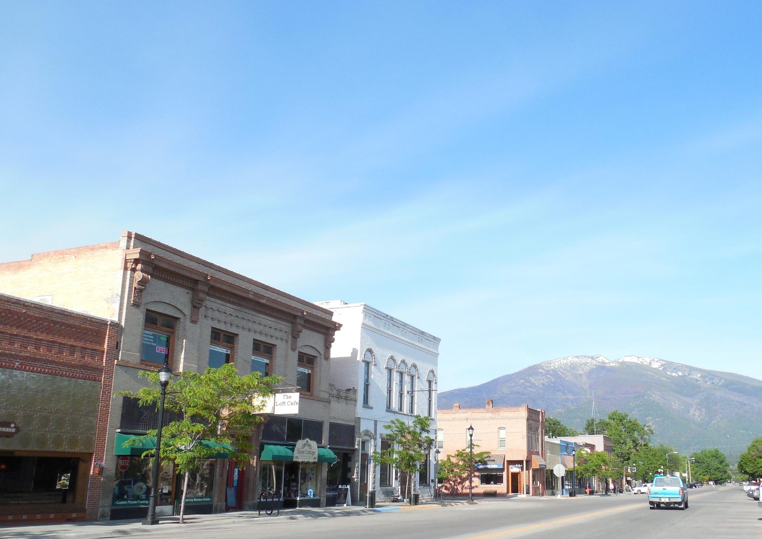 Photo: Downtown Hamilton, Mont.