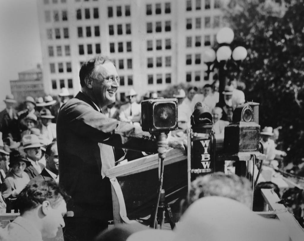 Photo: President Franklin D. Roosevelt.