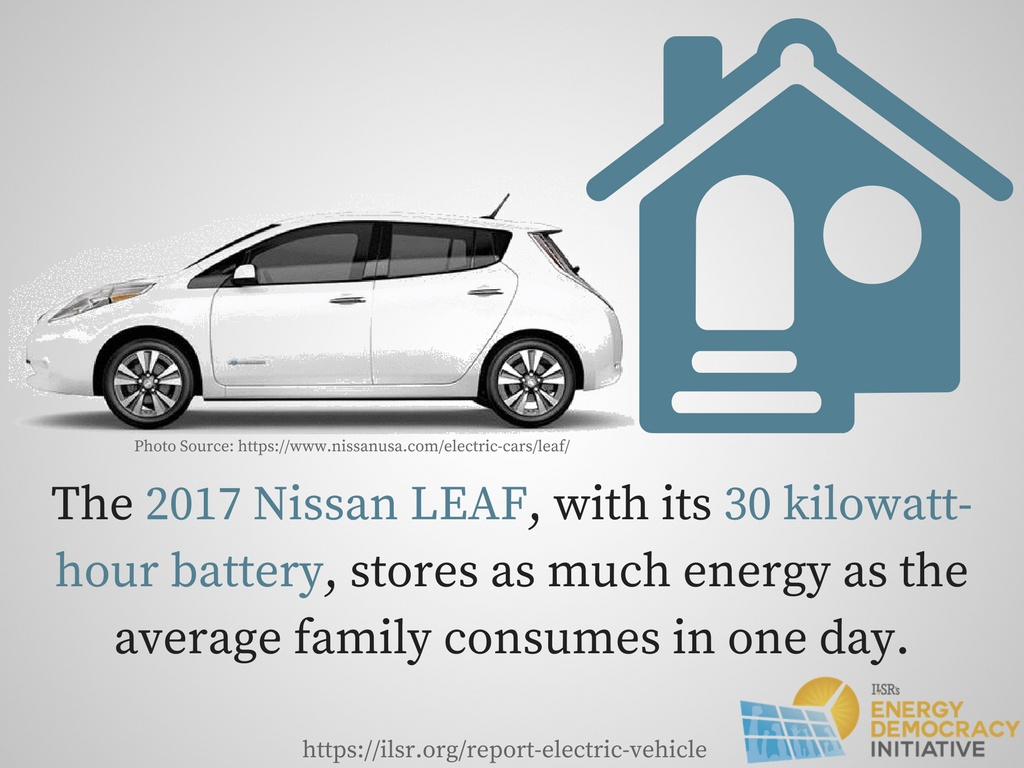 Report Choosing The Electric Avenue Unlocking Savings Emissions Reductions And Community Benefits Of Electric Vehicles Institute For Local Self Reliance