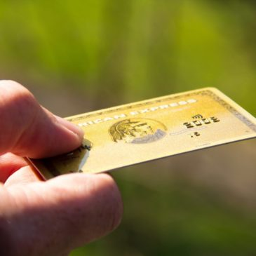 Photo: American Express card.