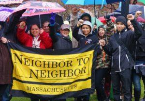 A group of Neighbor To Neighbor organizers, Holyoke, Mass.
